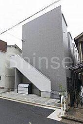 大阪府堺市北区中長尾町1丁の賃貸アパートの外観