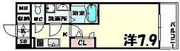 エスリード神戸海岸通[10階]の間取り