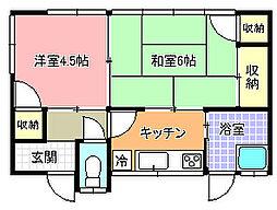 [一戸建] 茨城県水戸市水府町 の賃貸【/】の間取り
