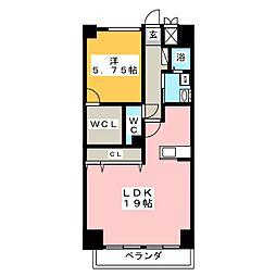 CSP NAGOYA[2階]の間取り