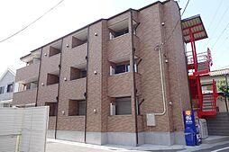 東京都足立区梅島1丁目の賃貸アパートの外観
