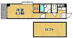 マーベラス赤坂[3階]の間取り