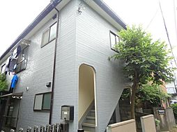 内山アパート[1階]の外観