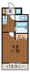 M-Plazon[2階]の間取り