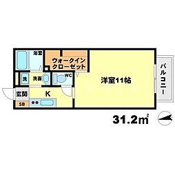 くりの木ハウス[1階]の間取り