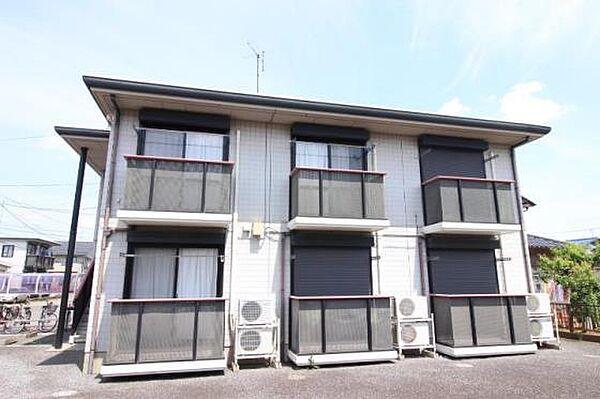 プルミエール B 2階の賃貸【茨城県 / 稲敷郡阿見町】