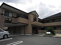 大阪府高槻市唐崎西2丁目の賃貸アパートの外観