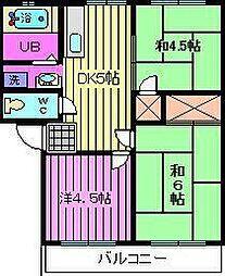 第1ハイコーポ[2階]の間取り