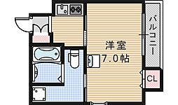 ルクレール鶴ヶ丘[301号室]の間取り