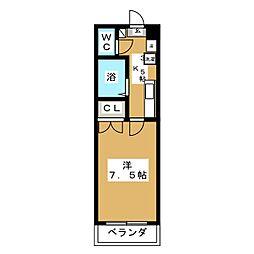 アモール[2階]の間取り