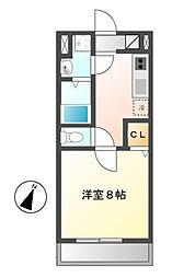 サニーコート・K[3階]の間取り