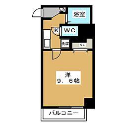 プレサンス京都御所西[4階]の間取り