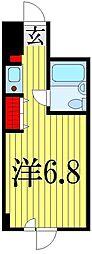 ファーストコーポ弐番館[4階]の間取り