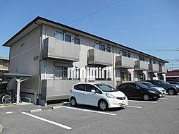 愛知県岡崎市大平町字奥屋の賃貸アパートの外観