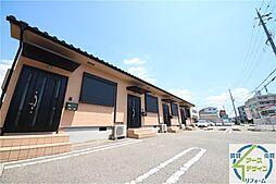兵庫県明石市小久保4丁目の賃貸アパートの外観