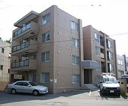 北海道札幌市豊平区美園十二条7丁目の賃貸マンションの外観