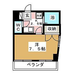 五輪マンション[3階]の間取り
