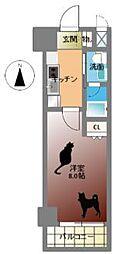 Groove Nipponbashi[7階]の間取り