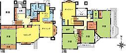 成田東2丁目中古住宅 5SLDKの間取り