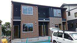 富山県富山市下大久保の賃貸アパートの外観