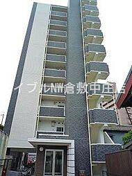 岡山県倉敷市川西町丁目なしの賃貸マンションの外観
