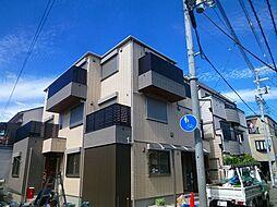 大阪府大阪市阿倍野区阪南町1丁目の賃貸アパートの外観