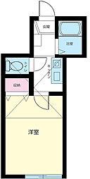 東京都板橋区加賀2丁目の賃貸アパートの間取り