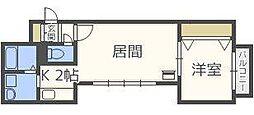 デルフィーノ麻生II[3階]の間取り