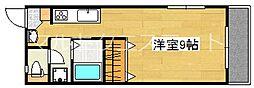 REVEハヤト[3階]の間取り