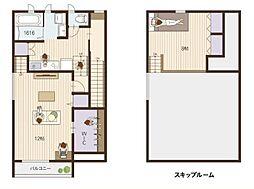 Cococara House 別館[201号室]の間取り