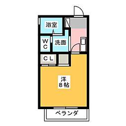 リエス千代田橋[2階]の間取り