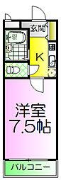 宿院ピア2[4階]の間取り