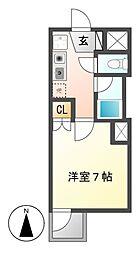 パレ千郷[3階]の間取り