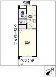 マンション表台[3階]の間取り
