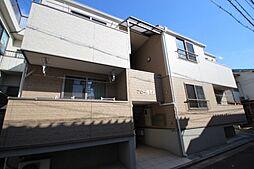広島県広島市中区江波西1丁目の賃貸アパートの外観
