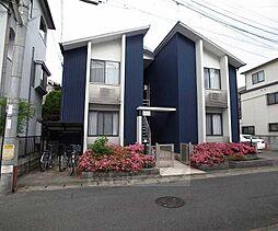 京都府京都市山科区御陵四丁野町の賃貸アパートの外観