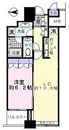 東京都港区台場2丁目の賃貸マンションの間取り