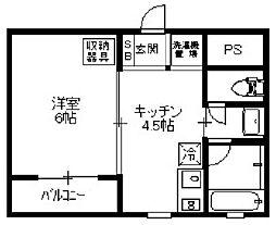 モダナーク[3階]の間取り
