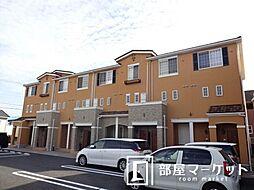 愛知県豊田市上郷町4丁目の賃貸アパートの外観