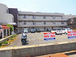 滋賀県近江八幡市白鳥町の賃貸マンションの外観