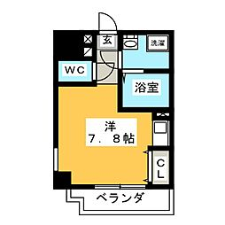 With Stage[7階]の間取り