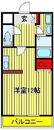 モアルヤタ藤[2階]の間取り