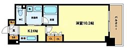 アクシオ梅田東[4階]の間取り