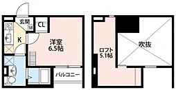 セルフィーユ[2階]の間取り