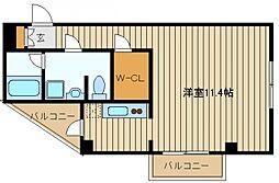東京都練馬区谷原6の賃貸マンションの間取り