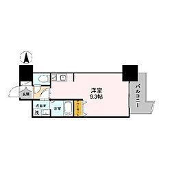 プライムアーバン松屋町[5階]の間取り