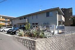 福岡県福岡市中央区小笹3丁目の賃貸アパートの外観