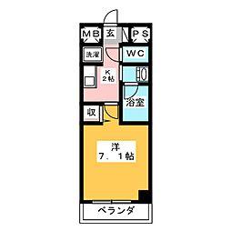 is常盤[6階]の間取り