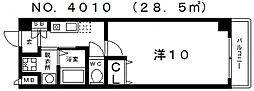 ル・クール花園[507号室号室]の間取り