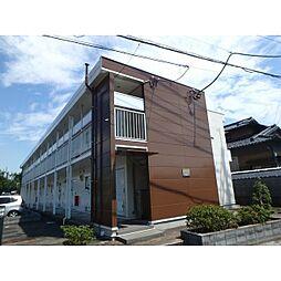 千葉県野田市中里の賃貸アパートの外観